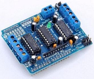 L293D motorshield voor Arduino