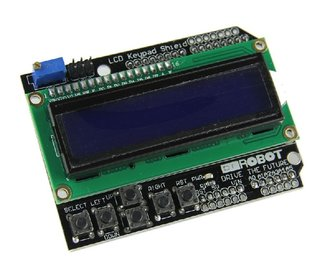 LCD 1602 LCD key pad shield