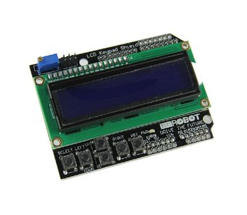 LCD 1602 LCD key pad shield