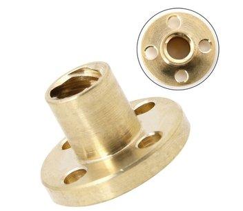 Leadscrew spindel moer Tr8x2mm
