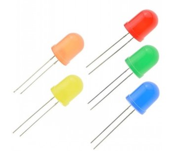 Led 10mm rood diffuus