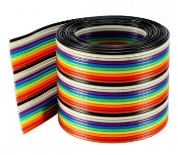 Lint flat kabel 40 draads per 1 meter awg28 1.27