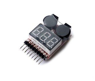 Lipo batterij tester-alarm