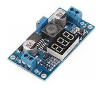 LM2596 step down module met voltmeter