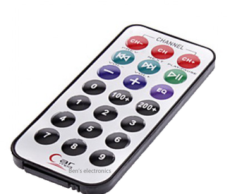 Losse remote afstandbediening