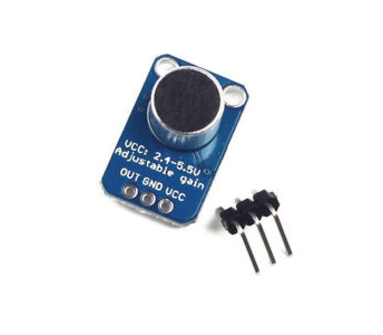 Max4466 electret microfoon