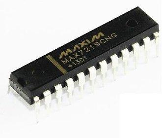 Max7219cng chip matrix/leddriver