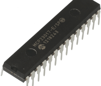 MCP23017 i/o expander ic i2c