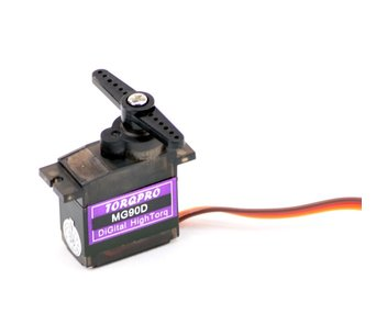 MG90D digitale mini servo metalen mechanisme 360
