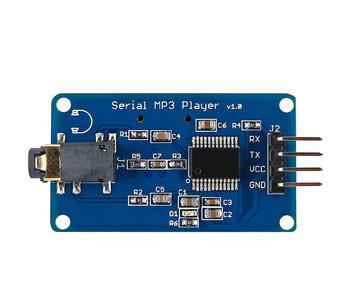 Mp3 UART seriële module voor Arduino