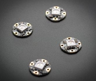 Neopixel Flora RGB smart 4 stuks