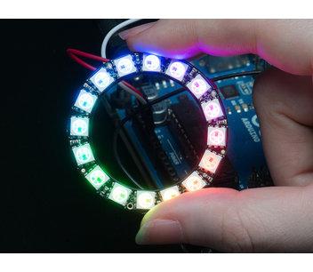 Neopixel ring 16 ws2812 adresseerbare led