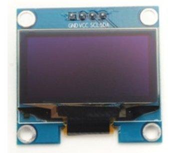 Oled i2c 0.96 inch blauw 128*64