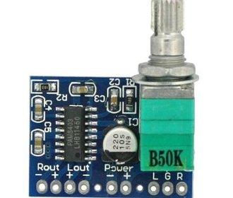 Pam8403 2 x 3 W versterker board