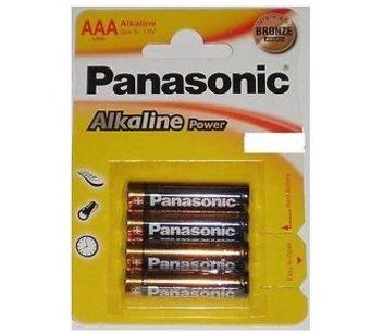Panasonic mini penlite batterijen 4 stuks AAA