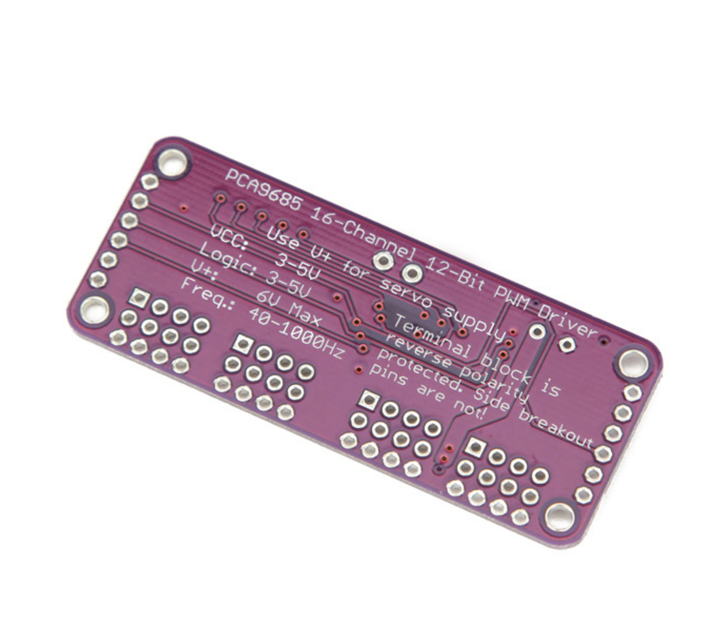 PCA9685 16-Channel 12-bit PWM/Servo Driver I2C interface