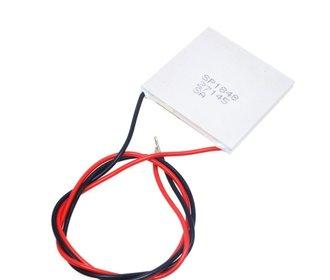 Peltier thermo elektrische generator