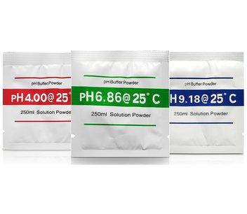 PH Kalibratie poeder 3 waarden 4.0 - 6.86 - 9.18