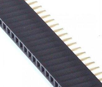Pinheader female 40 pins