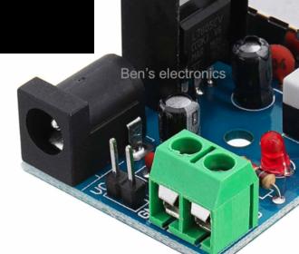 Power board 7-15V naar 5V 1.5A