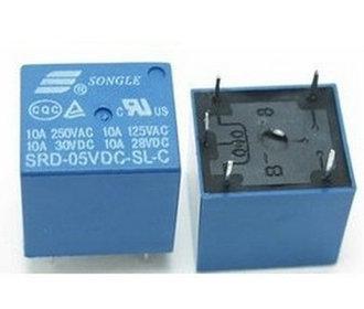 Print relais 5v DC SRD-05VDC-SL-C