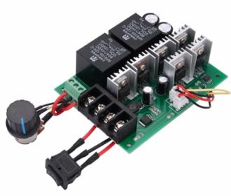 PWM Motor regelaar 10-50 V 60A met omkeer schakelaar