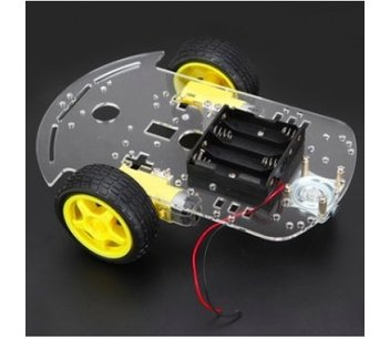 robot auto chassis platform 2wd