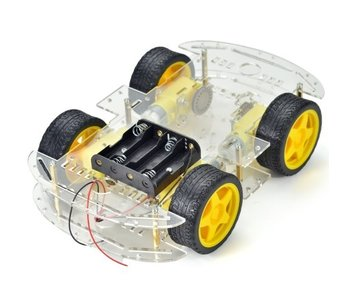 robot auto chassis platform 4wd