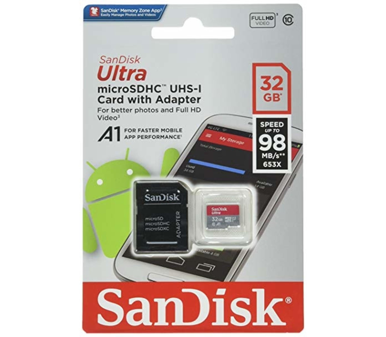 SanDisk Ultra microSD UHS-I 32GB