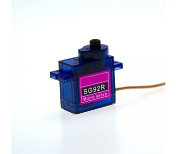 Sg92r Carbon fiber tandwielen mini servo