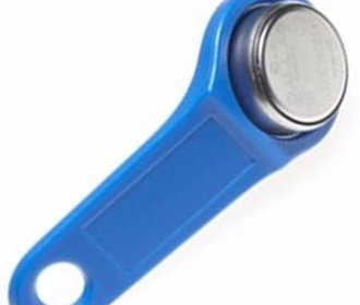 Smart button ibutton Dallas key blauw