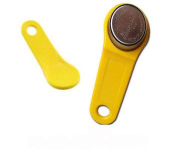 Smart button ibutton Dallas key geel