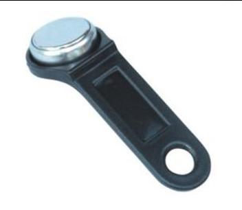 Smart button ibutton Dallas key zwart