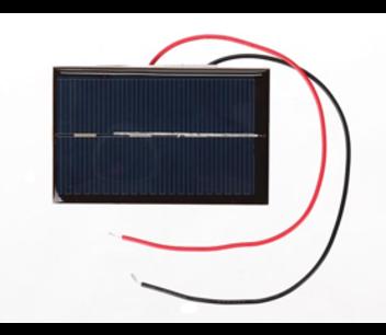 Solar cell - zonnepaneeltje 0.5v 800mA