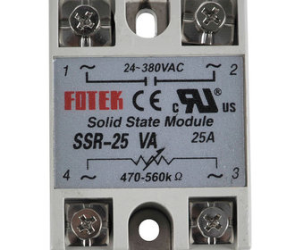 Solid state 25A SSR Variable-AC