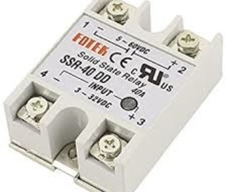 Solid state relais 40A SSR DC-DC Schakelspanning 5-60V