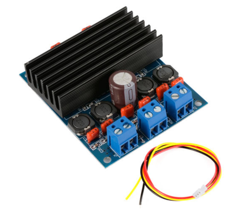 TDA7492 2x50W D klasse- hoog vermogen digitale versterker
