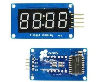 TM1637 module Led klok display