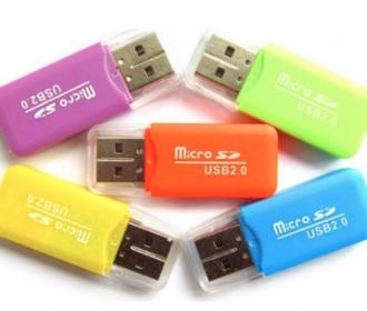 Usb 2.0 Micro SD kaart lezer-schrijver