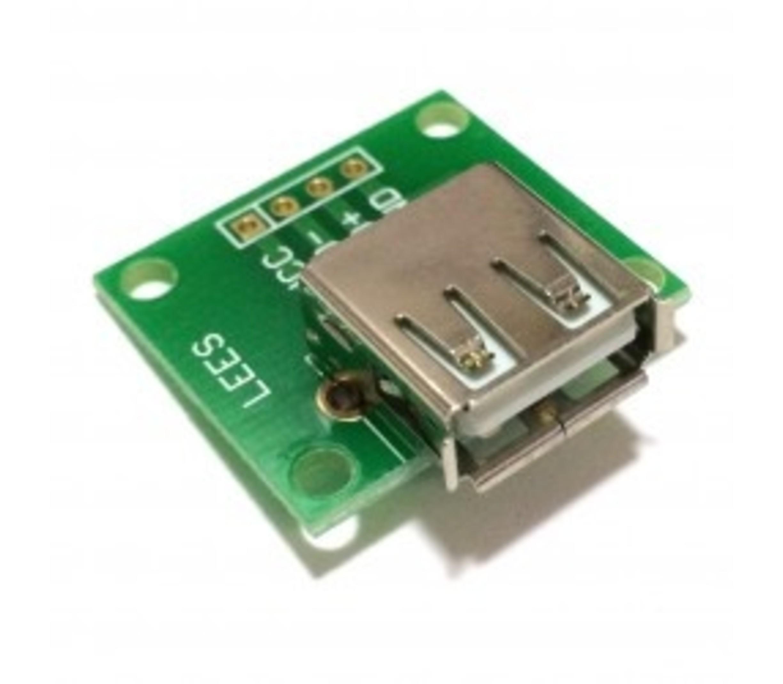 USB type A female breakout