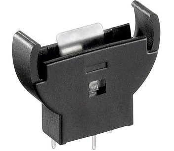 Verticale Batterij houder knoopcel CR2032/CR2025