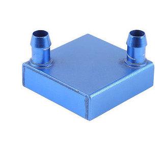 Water koeler tbv Peltier element verticale aansluiting