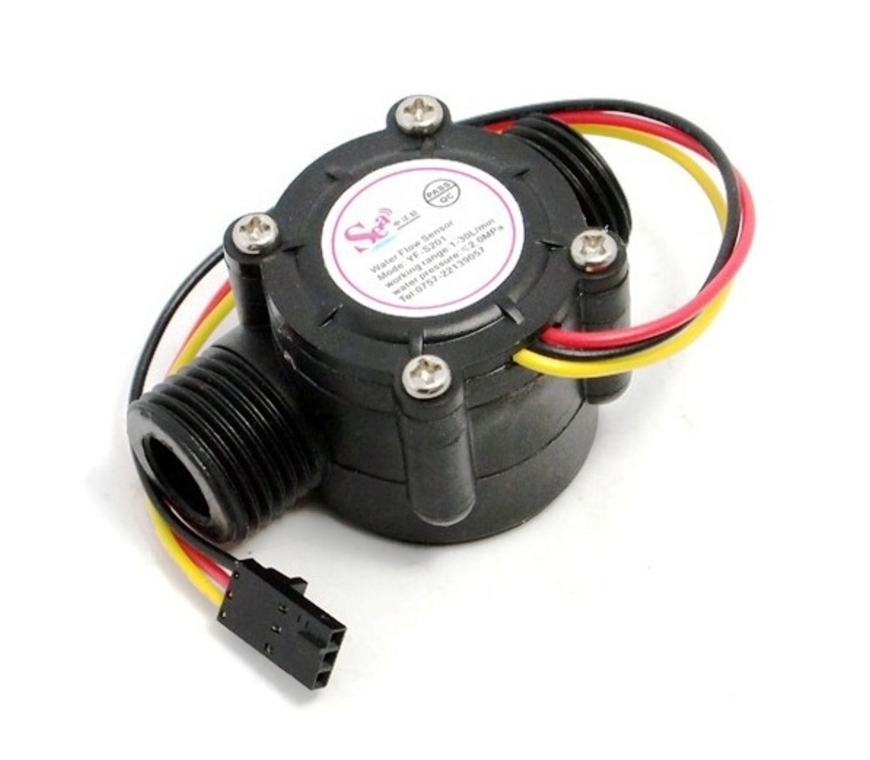 Waterflowsensor 1-30 liter per minuut