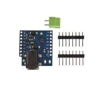 WeMos D1 Mini DC Power Shield