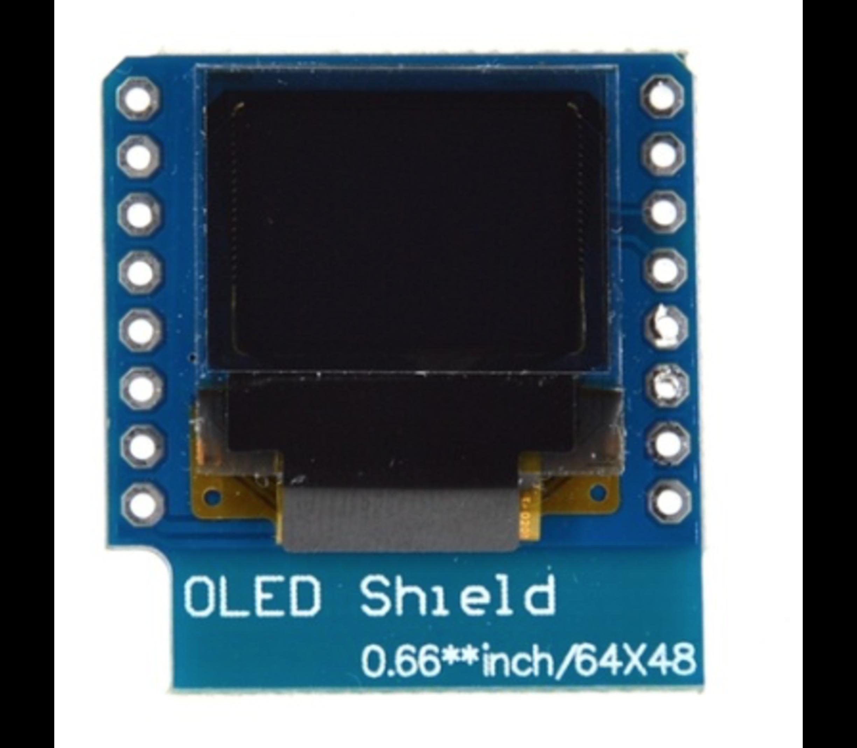 WeMos D1 Mini OLED Shield