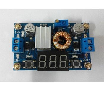 XL4015 DC-DC Step-Down converter voltmeter