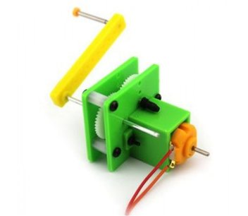 Zelfbouw hand generator