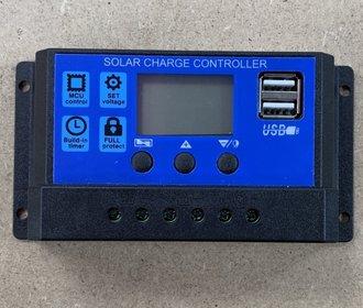 Zonnepaneel laad regelaar  12-24V Solar charge controller 30A