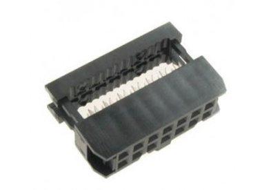 Flat kabel connectoren
