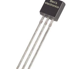 BC556 transistor